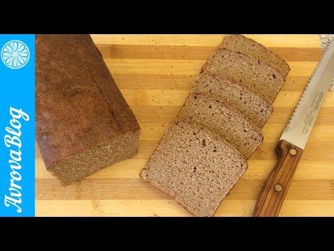 Как испечь ржаной хлеб на закваске в домашних условиях в духовке