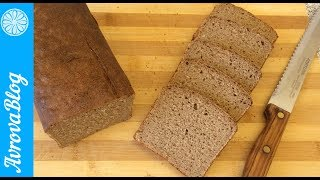 Ржаной хлеб на закваске в домашних условиях в духовке