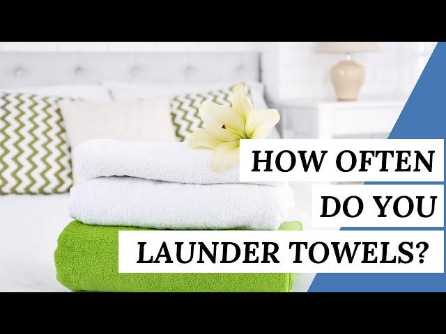How Often Do You Need To LAUNDER TOWELS? | Cleaning Tips #short