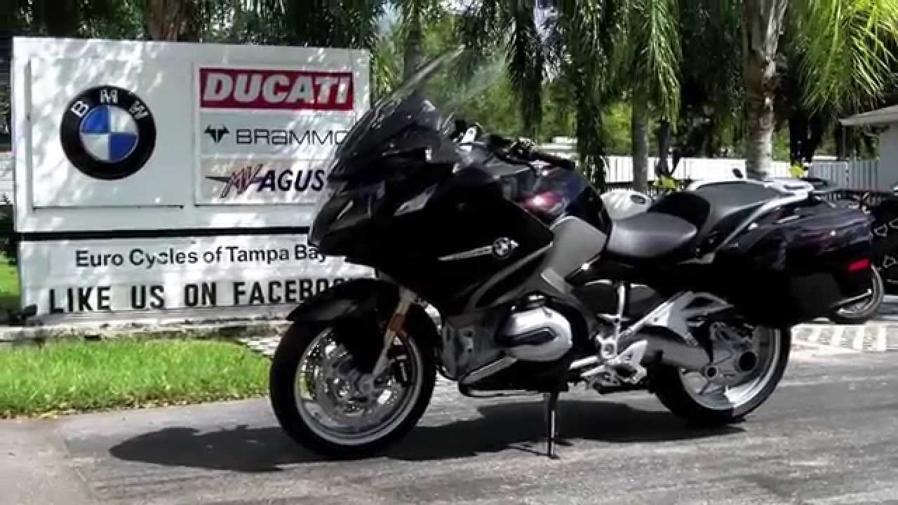 2014 Bmw R1200rt Ebony Metallic At Euro Cycles Of Tampa