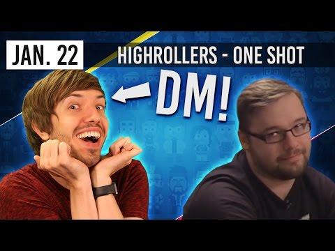 DM Trott Special! -  HighRollers D&D ONE SHOT (22nd January 2017)