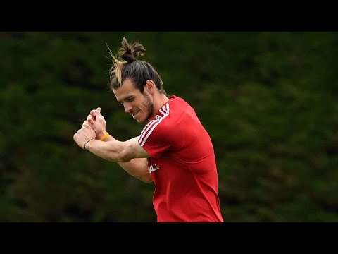 4 minutes 30 seconds Of Gareth Bale Being Good At Golf