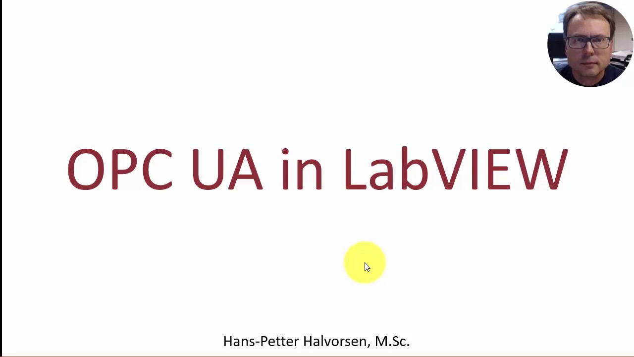 OPC UA in LabVIEW