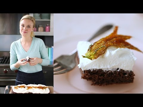 Chocolate Zucchini Sheet Cake with...