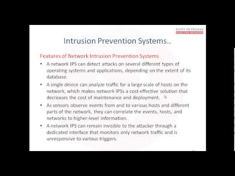 CCNPS | IPS | 01- Intrusion Prevention and Intrusion Detection Systems (Eng.Ahmed Sultan)