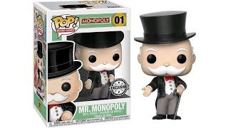 Mr Monopoly Funko Pop (exclusive Stickered Funko Pop / Walmart Exclusive)