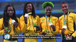 #RioToday: Men's and Women's 4x400m relays
