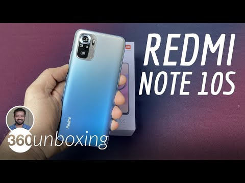 Redmi Note 10S Unboxing: Upgraded Performance at Rs. 14,999