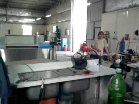mel at work in doha qatar in inox company.mp4