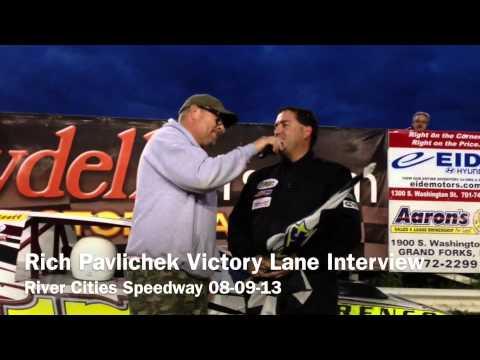 Rich Pavlichek Victory Lane Interview