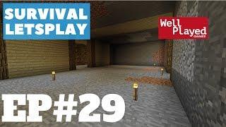 Minecraft Survival Letsplay Ep29 Digging!!!