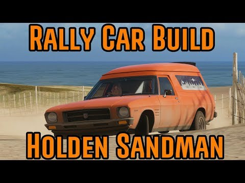 Forza Horizon 4 -  Rally Car Build - Holden Sandman thumbnail