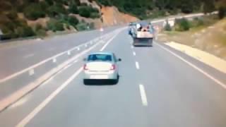 Freni patlayan Kamyon Şoförü Erken Davranınca Canından Oluyordu!