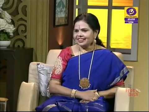 Bharatanatyam dancer Vidushi Vidya Ravishankar in Shubhodaya Karnataka | DD Chandana