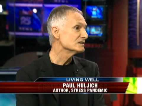 Paul Huljich author of Stress Pandemic: The Lifestyle solution speaks to Fox25