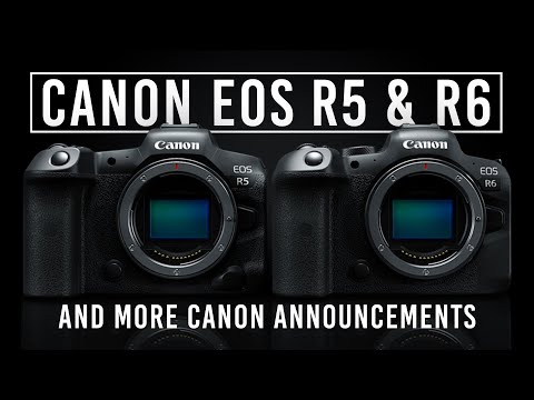 Canon Makes EOS R5 and EOS R6 Cameras Official Alongside 4 RF Lenses; More at B&H Photo Video
