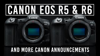 Canon EOS R5, R6, RF Lenses and More! | Hands-on Review
