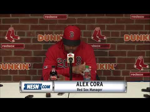 Alex Cora Red Sox Vs. Athletics Pregame Press Conference