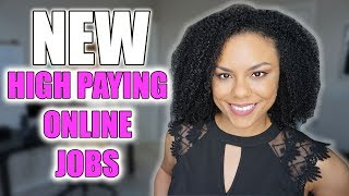 High Paying Work From Home Jobs 2020! (New)