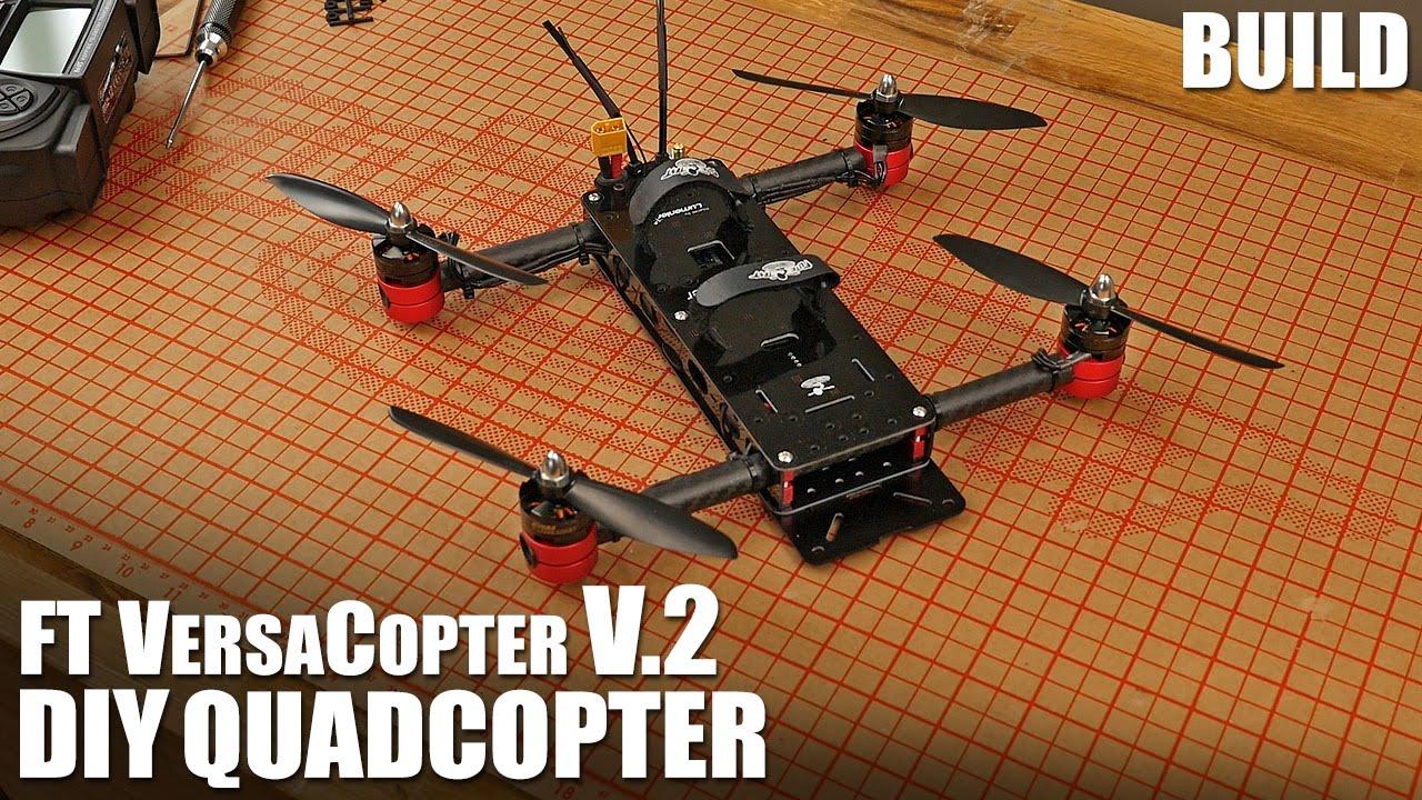 FT VersaCopter v2.0 - BUILD | Flite Test - YouTube