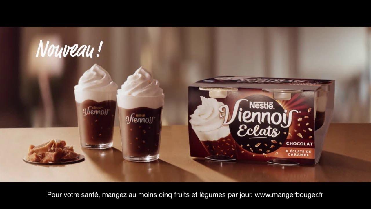 """Musique de la pub Le Viennois Eclats Nestlé """"le plus fouetté des desserts"""" Pub 18s 2021"""