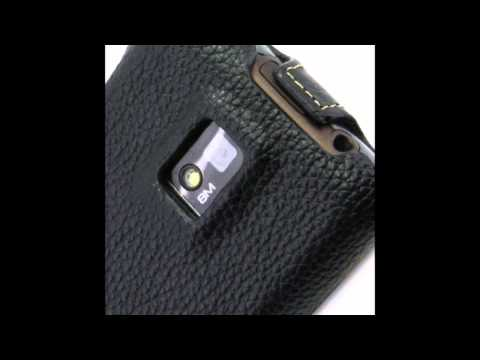 Melkco Leather Case for LG Optimus 2X / P990 Star / P990 Optimus Speed - Jacka Type (Black LC)