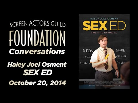 Conversations with Haley Joel Osment of SEX ED