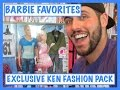 BARBIE FAVORITES - TOYS R US EXCLUSIVE - KEN FASHION PACK - DOLL REVIEW