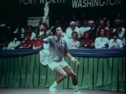 1975 WCT Dallas Tennis World Championship (Charlton Heston narrator)
