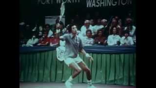 1975 WCT Dallas Tennis World Championship (Charlton Heston narrator)
