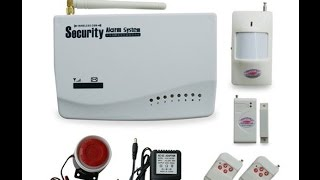 Китайская GSM сигнализация Security Alarm System(Китайская GSM сигнализация Security Alarm System (рассказываю и показываю как она работает на практике). Заработок..., 2016-01-24T21:23:28.000Z)