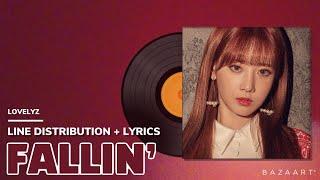 러블리즈(Lovelyz) - FALLIN' / Line Distribution + Lyrics (파트분배 +…