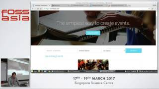 Better Events with Open Event - FOSSASIA 2017