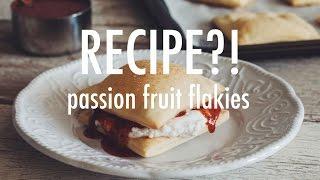 RECIPE?! Ep #2: vegan passion fruit flakies | hot for food
