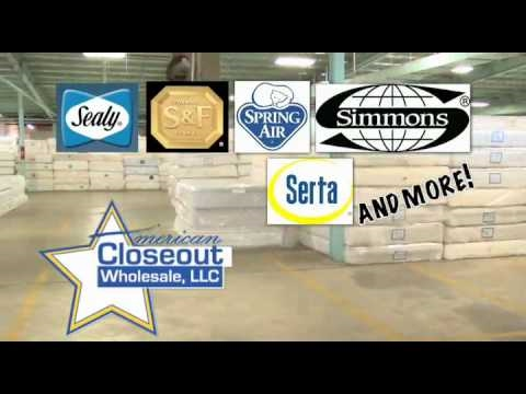 American Closeouts Wholesale Mattresses