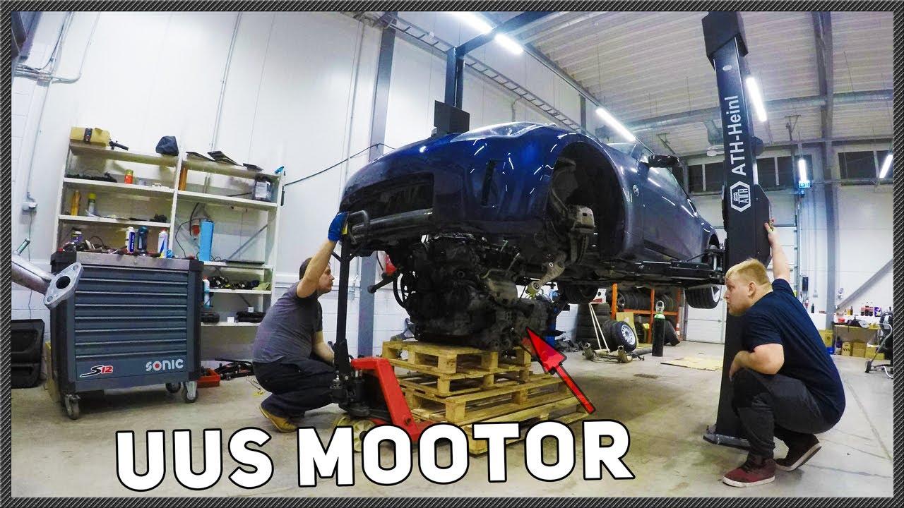 350z mootori komplekteerimine ja peale tagasi & käima osa4