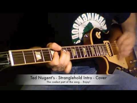 Ted Nugent - Stranglehold Intro Guitar Cover