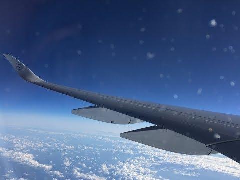LUFTHANSA A350-900 BOSTON - MUNICH | FLIGHT REVIEW