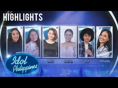 Meet The Top 6 Girls | Solo Round | Idol Philippines 2019