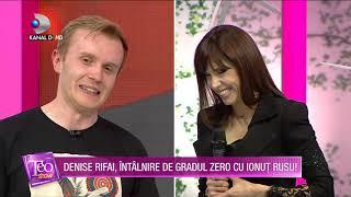 Teo Show (13.04.2021) - Denise Rifai, intalnire de gradul zero cu Ionut Rusu! Primele reactii...!