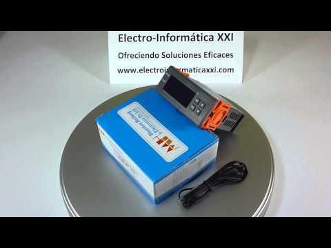 Cablaggio e settaggio termostato stc 1000 funnycat tv for Termostato digital calefaccion programable