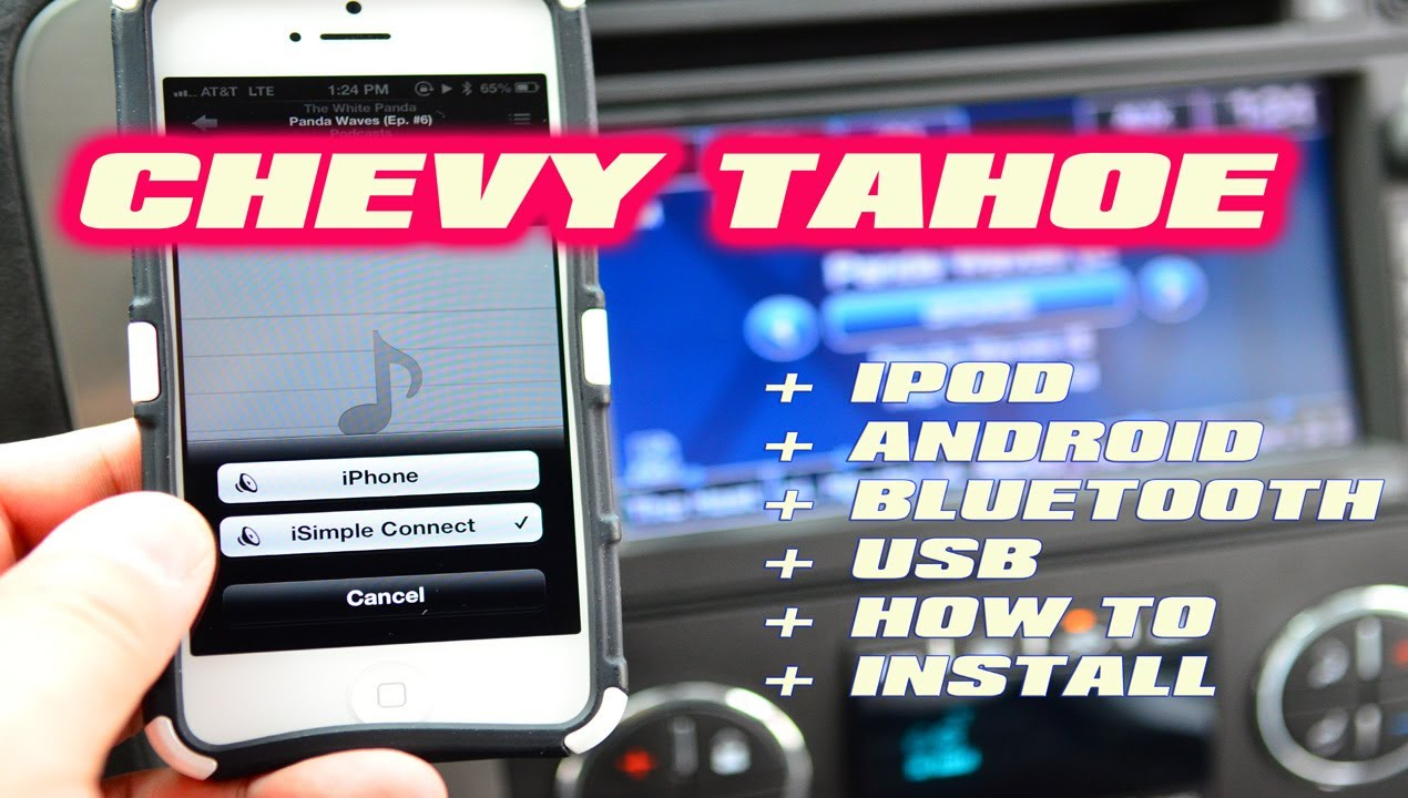 Used Chevy Tahoe >> CHEVY TAHOE iPod Bluetooth USB MP3 AUX iSimple CONNECT ISGM651 ( AUTOTOYS COM ) - YouTube