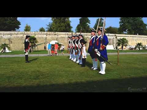 Rochefort, Incorporation du Corps Royal d'Infanterie de la Marine au Groupe Lafayette
