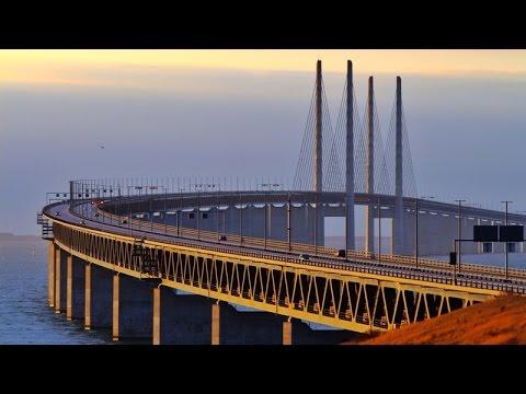 Øresund Bridge by train, Malmö to  Copenhagen