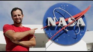 Fomos à NASA pra mostrar COMO FUNCIONA UM FOGUETE