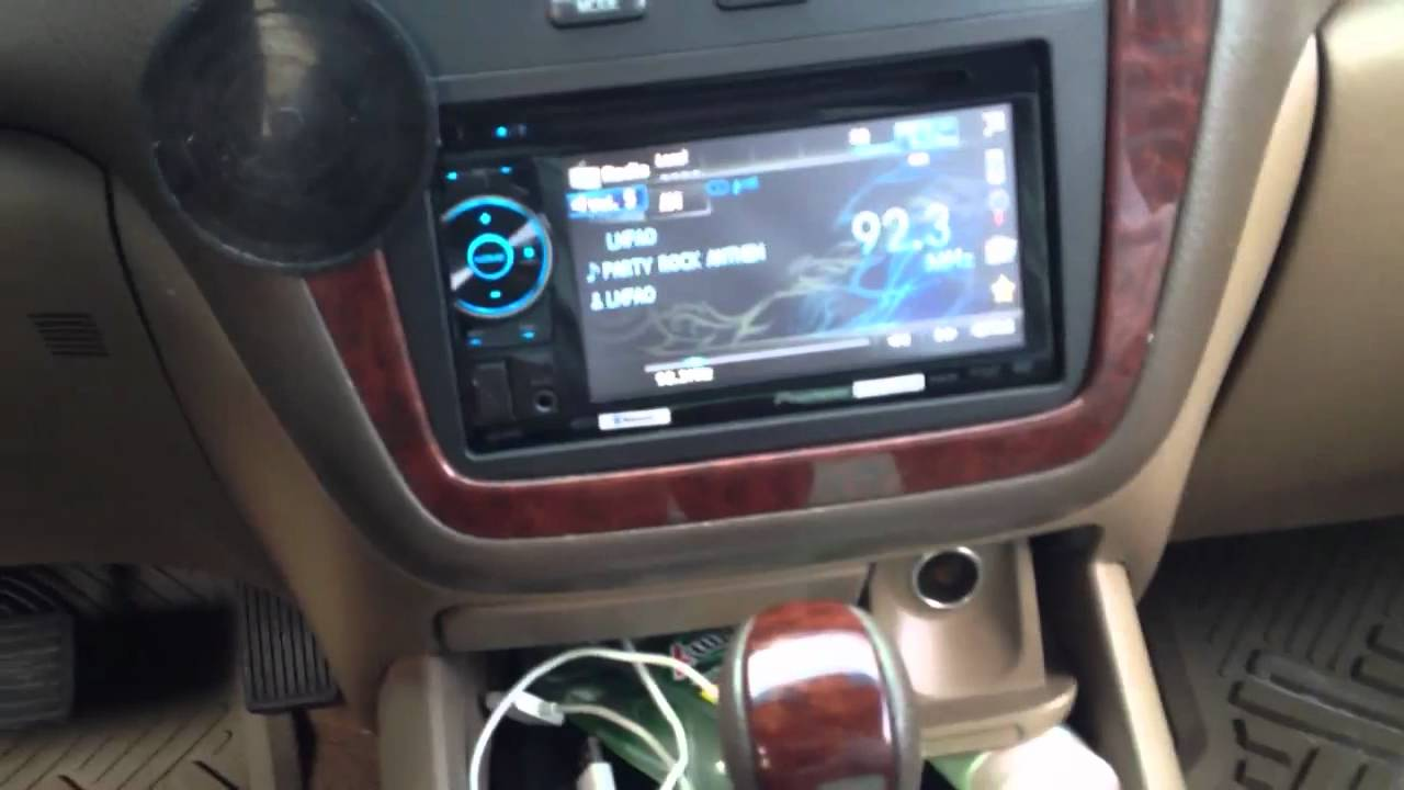 Acura Mdx With Double Din Aftermarket Radio Youtube
