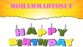 MohammadYosuf Birthday Wishes & Mensajes