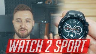смарт-часы Huawei Watch 2 Sport - Обзор.  4G на твоей руке