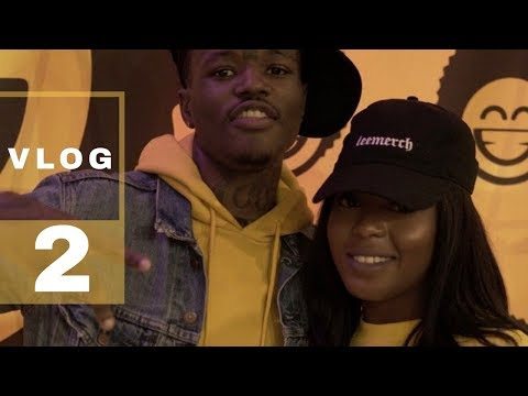 VLOG #2   Juice Comedy Show, DC Young Fly, Renny, Michael Blackson, Photoshoot