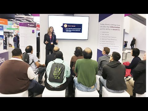 Cyber Kill Chain Leidos Cyber @ RSA - Trade Show Presenter A